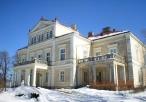 Pałac Raczyńskich w aurze zimowej - od boku