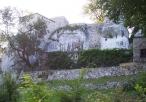 Widok na zamek Bąkowiec w Morsku