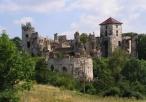Widok na zamek Tęczyn
