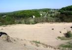 Pustynia Siedlecka - widok na okoliczne zabudowania