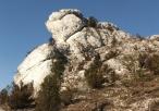 Ostańce skalne w Sokolich Górach