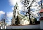 Kościół pw. św. Jana Chrzciciela w Złotym Potoku od frontu