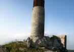Ruiny zamku - wieża