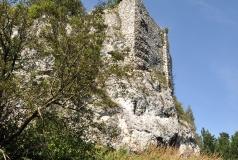 Przewodziszowice - średniowieczna strażnica królewska, ruiny