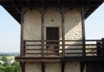 Odrestaurowana wieża zamkowa
