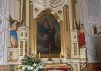 Wewnątrz Sanktuarium Matki Bożej Leśniowskiej