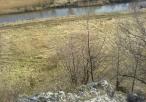 Widok ze skałek na rzekę Wartę