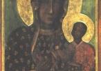 Obraz Matki Boskiej Częstochowskiej (reprodukcja oryginału)