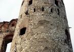 Zamek Tenczyn w Rudnie - widok na wieżę