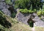 Pozostałości budowli zamkowych