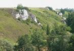 Dłubniański Park Krajobrazowy niedaleko Imbramowic