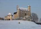 Zimowe Bobolice, końcowe prace na zamku