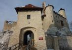 Brama na zamek w Bobolicach
