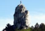 Skała Wysoka - jedna z najbardziej charakterystycznych skał w Rzędkowicach