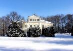 Pałac Raczyńskich w aurze zimowej