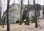 Ruiny zamku na Ostrężniku