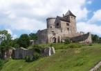 Widok na zamek będziński
