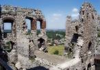 Zamek na Ogrodzieńcu wewnątrz