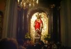Kaplica Najświętszego Serca Pana Jezusa – figura w ołtarzu głównym
