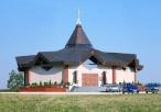 Widok na sanktuarimu św. Ojca Pio