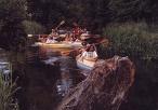Spływ kajakowy na rzece Młynówce (Kopance)