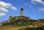 Ruiny zamku w pełnej okazałości