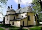 Kościół pw. św. Jana Chrzciciela w Złotym Potoku od tyłu