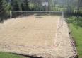 Pełno wymiarowe boisko do siatkówki plażowej
