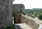 Widok z murów na miasto Będzin
