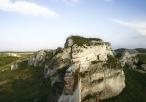 Ruiny zamku - pozostałość murów