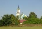 Kościół pod wezwaniem św. Bartłomieja we Włodowicach od tyłu