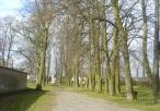 Park przed klasztorem