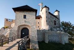 Zamek w Bobolicach - brama wejściowa