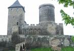 Zamek w Będzinie od boku