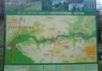 Mapa szlaku wodnego na Warcie