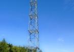 Wieża obserwacyjna na Pustynii Błędowskiej w okolicach Kluczy