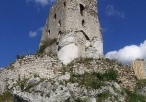 Ruiny zamku na Mirowie