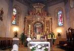 Ołtarz główny w kościele św. Jana Chrzciciela