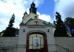 Sanktuarium - brama główna