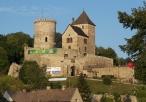 Wejście do zamku w Będzinie od strony miasteczka