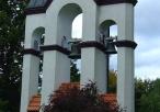 Dzwonnica koło Sanktuarium Matki Bożej Leśniowskiej