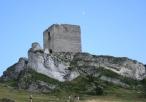 Ruiny zamku - budynek główny