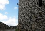 Wejście na schody na murze obronnym