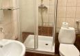 Łazienka - podobny standard we wszystkich pokojach
